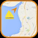 GPS Boat Navigation icon