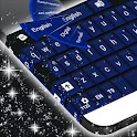 Teclado Simples Dark Blue icon