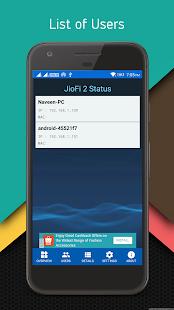 JioFi 2 Status - náhled