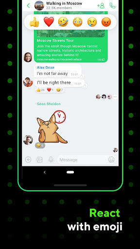 ICQ Messenger: Video Calling App & Chat Rooms 9.9.1(824703) Screenshots 1