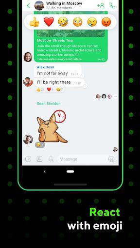 ICQ Messenger: Video Calling App & Chat Rooms 9.13.1(824718) screenshots 1