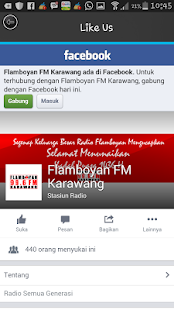 Flamboyan FM Karawang- screenshot thumbnail