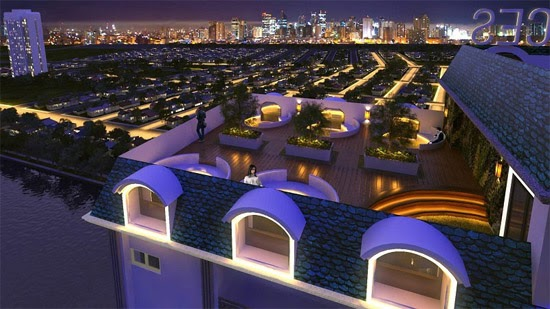 Harbour Park Residences, Mandaluyong roof deck