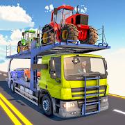 Car Transporter Truck Driver:Cargo Plane Simulator