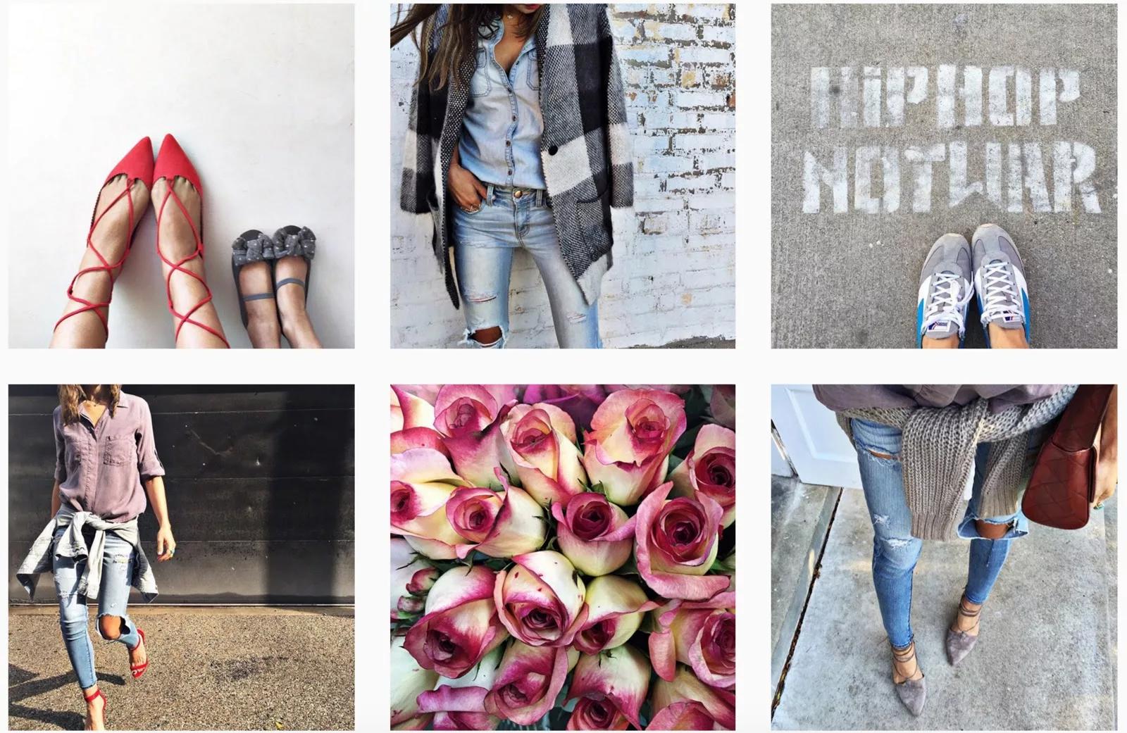 Красивое оформление аккаунта Instagram