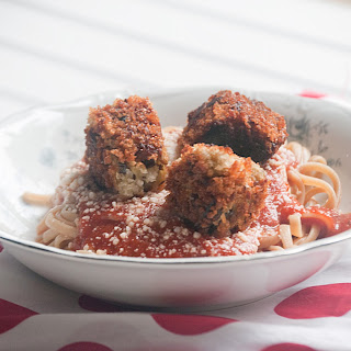 Eggplant Meatballs for #WeekdaySupper