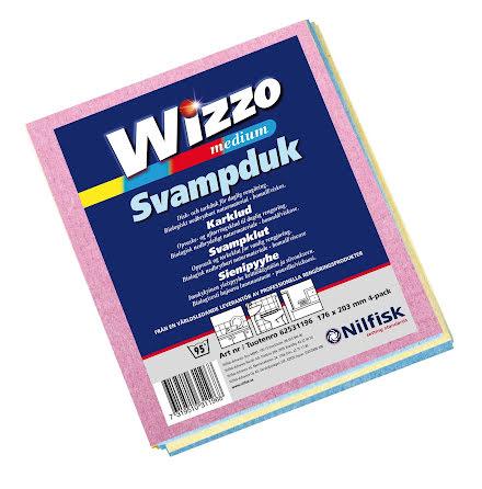 Svampduk Wizzo 175x203 sort4fp