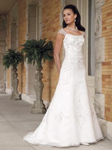 Casual Design For Wedding Bridal Gown