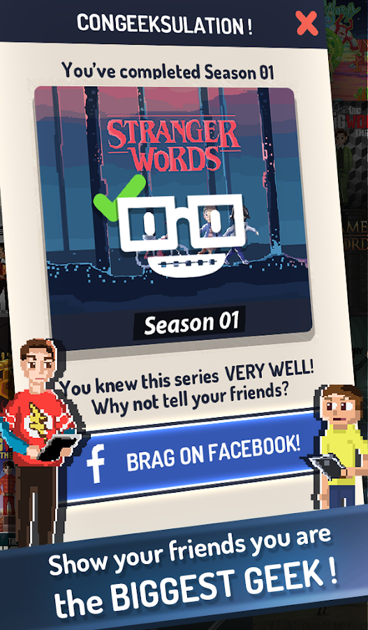 Geekwords Daily Puzzles- screenshot