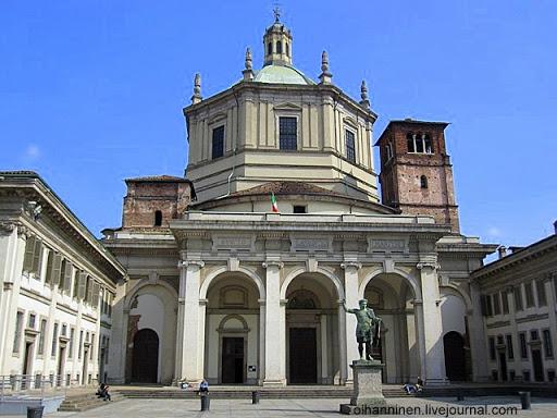 Базилика Святого Лаврентия в Милане, Италия