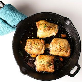 Garlic Brown Sugar Chicken Thighs.