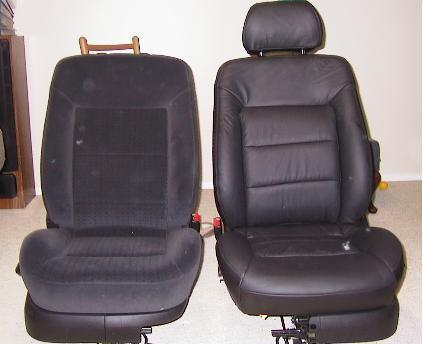 Covers Before Beginning The Installation My Drivers Side Seat Back Had Uneven Stitching Across Lumbar Area I Emailed Photos To Leatherseats