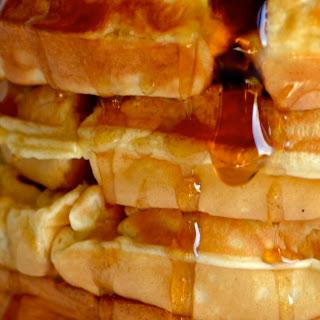 Copycat Hotel Waffles.