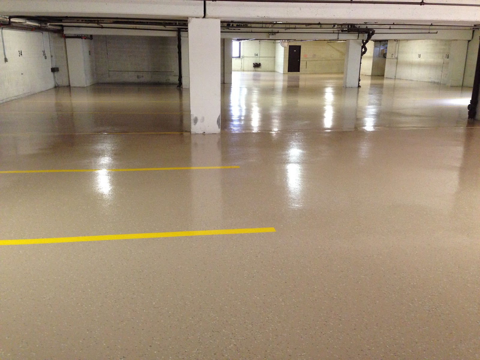 Condo Parking Garage Floor Coatings