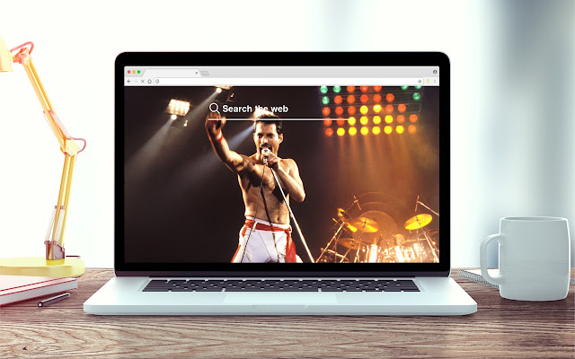 Freddie Mercury Wallpapers New Tab Theme