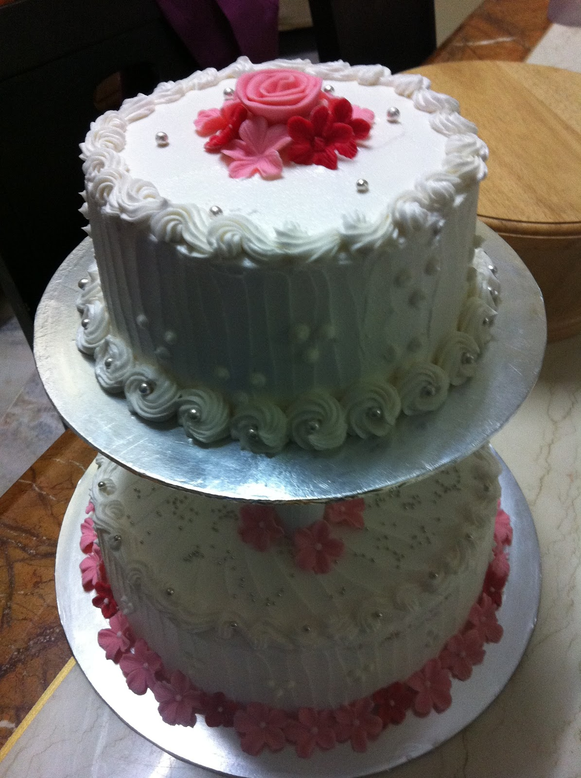 Genori S Blog Homemade Wedding Cake