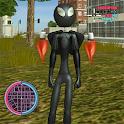 Jetpack Spider Stickman Rope Hero Gangstar Crime icon