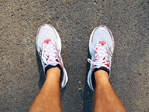Photo: Marathon training continued!