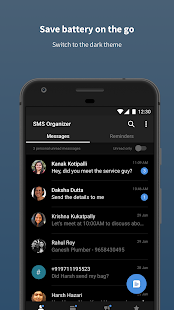 SMS Organizer - Clean, Blocker, Reminders & Backup Screenshot