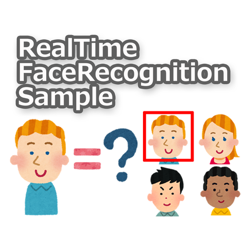 RealTimeFaceRecognitionSample 程式庫與試用程式 App LOGO-硬是要APP