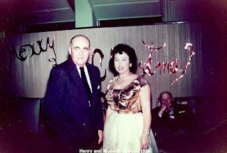 Photo: Henry Pound and Mynette Heyman Pound
