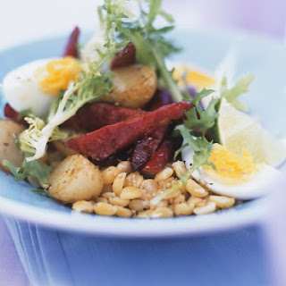 Warm Beet and Sliced Egg Bowl