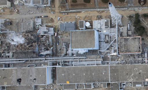 разрушенный реактор на Фукусима