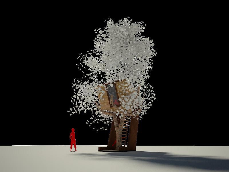 Casa en el árbol AT