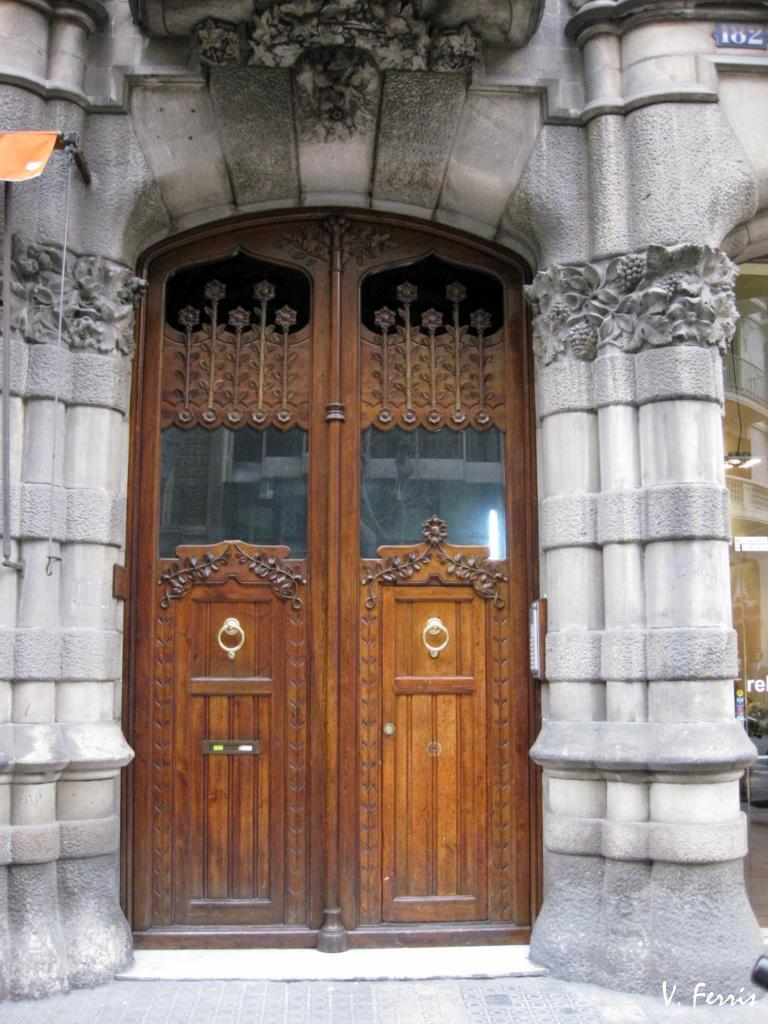 Casa sociedad torres hermanos i barcelona modernista - Casa torres barcelona ...