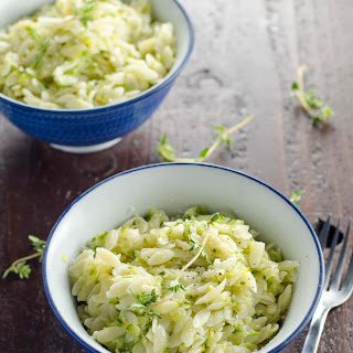 Camille Kingsolver's Disappearing Zucchini Orzo.