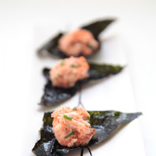 Primal Salmon Spread with Nori Chips