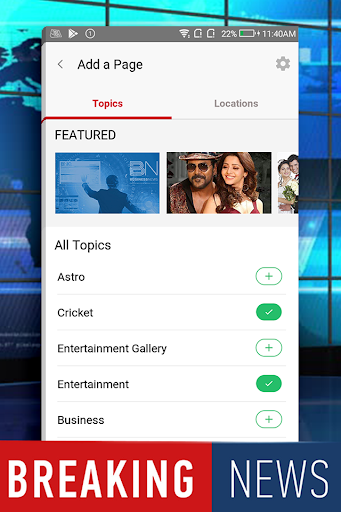 NEWS app App Report on Mobile Action - App Store Optimization and