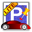 Car localization lite icon