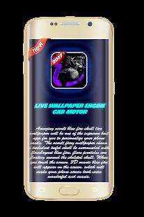 live wallpaper engine - motor - náhled