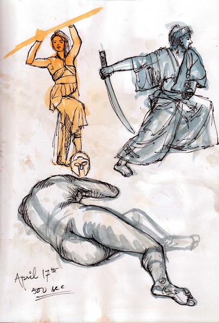 "Spartan Camp #177 - 50 gestures + Optional ""Neck Study"""