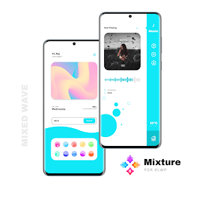 Mixture for KLWP 3.5 Paid Latest Mod APK Free Download 3