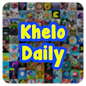 Khelo Daily: Play Free Games & Quiz to Earn Money icon