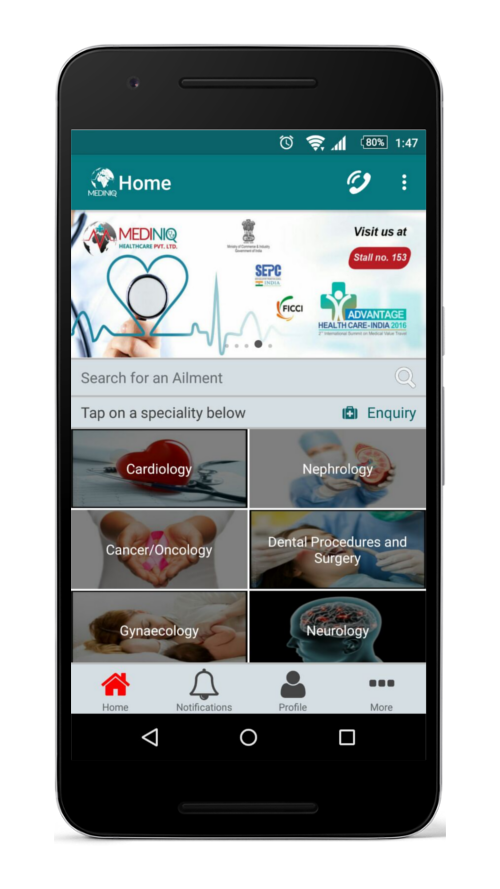 Mediniq - Medical Treatment- screenshot