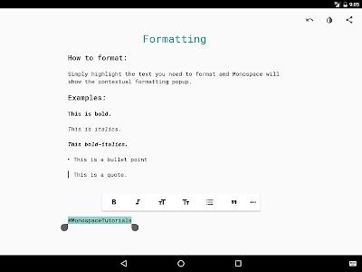 Monospace - Writing and Notes v2.7 Pro