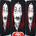 La Casa Art De Papel New Wallpapers 4K-HD icon