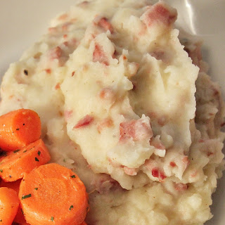Andouille Mashed Potatoes.