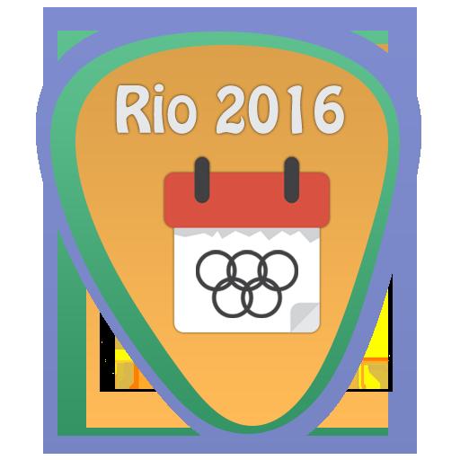 Olympics 2016 Rio Schedule 運動 App LOGO-APP開箱王