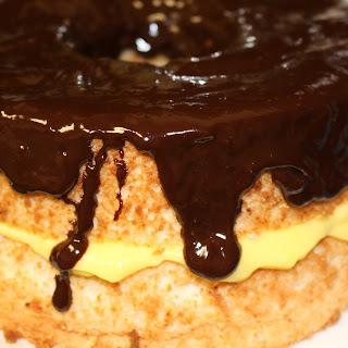 Boston Creme Angel Food Cake Recipe
