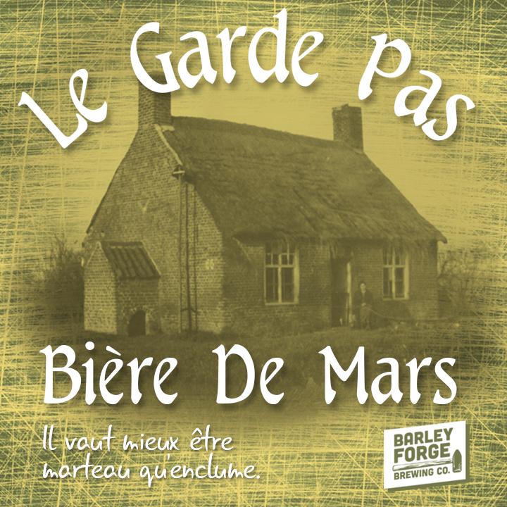 Logo of Barley Forge Le Garde Pas