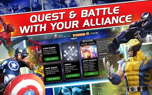 Marvel Contest of Champions Mod Apk 32.3.0 (God Mode + One Hit Damage) 2