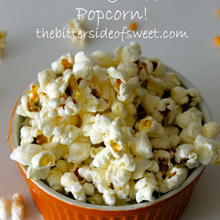 Perfectly Popped Popcorn.