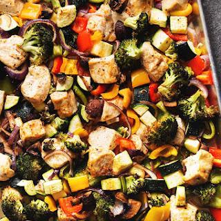 One Pan Chicken and Veggies Recipe