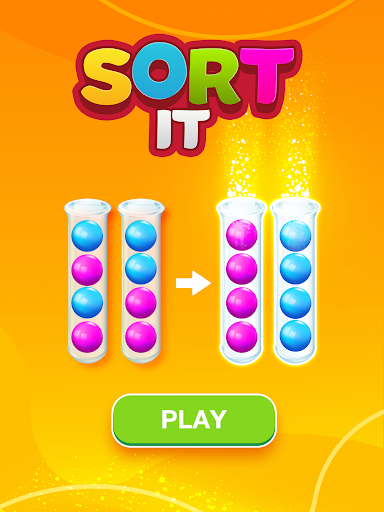 Sort Puzzle: Fun Ball apkpoly screenshots 6