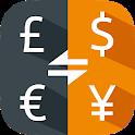 Currency converter - convert money, exchange rates icon