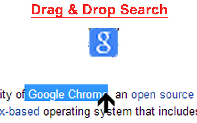 Simple Drag & Drop Search